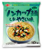 トーエー食品 株式会社 ノンカップ麺しおやさい味